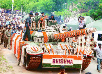 First 'Bhishma' handed over to Indian Army on 7th Jan'2004